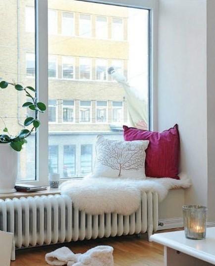 2012年最流行的飘窗装修设计效果图汇总