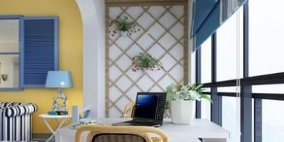 2013最有創意的客廳陽臺裝修設計效果圖