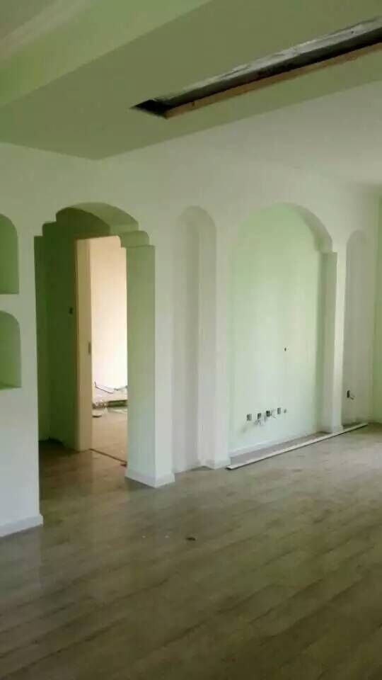成都中海兰庭装修设计施工现场效果图