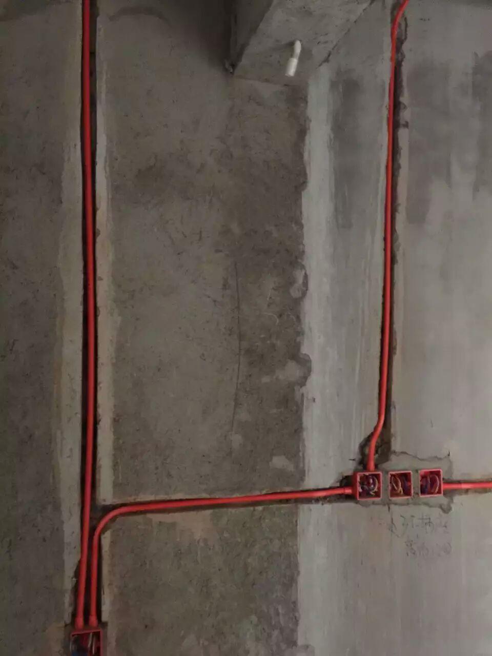 成都华润橡树湾顶楼跃层装修效果图施工图水电改造图