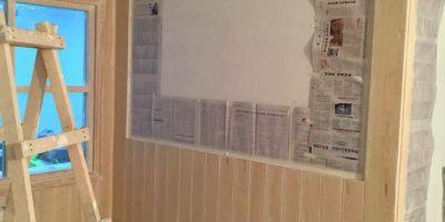 凱旋公館裝修案例,木作現場施工圖