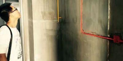 龍湖世紀水電改造現場施工圖
