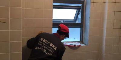 龍湖世紀風景廚衛貼磚裝修施工效果圖