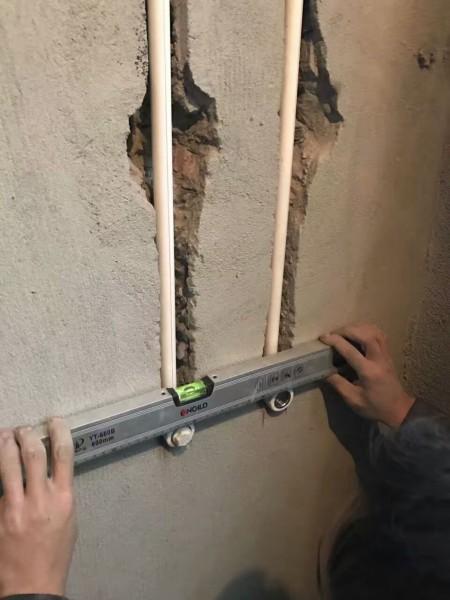 中德英倫聯邦水電改造現場裝修施工圖