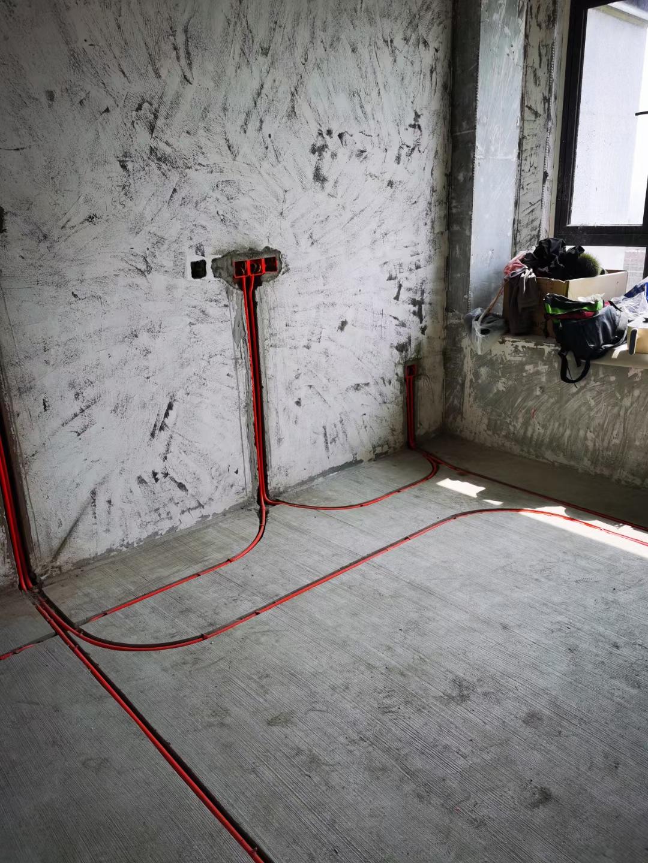 北大資源紫郡府-成都裝修-水電改造