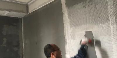 成都麓山國際裝修施工現場圖