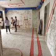 成都人居东湖长岛水电改造完工图丨木工现代交底
